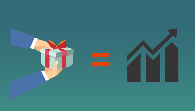 How can gift marketing plays core part in marketing plan?